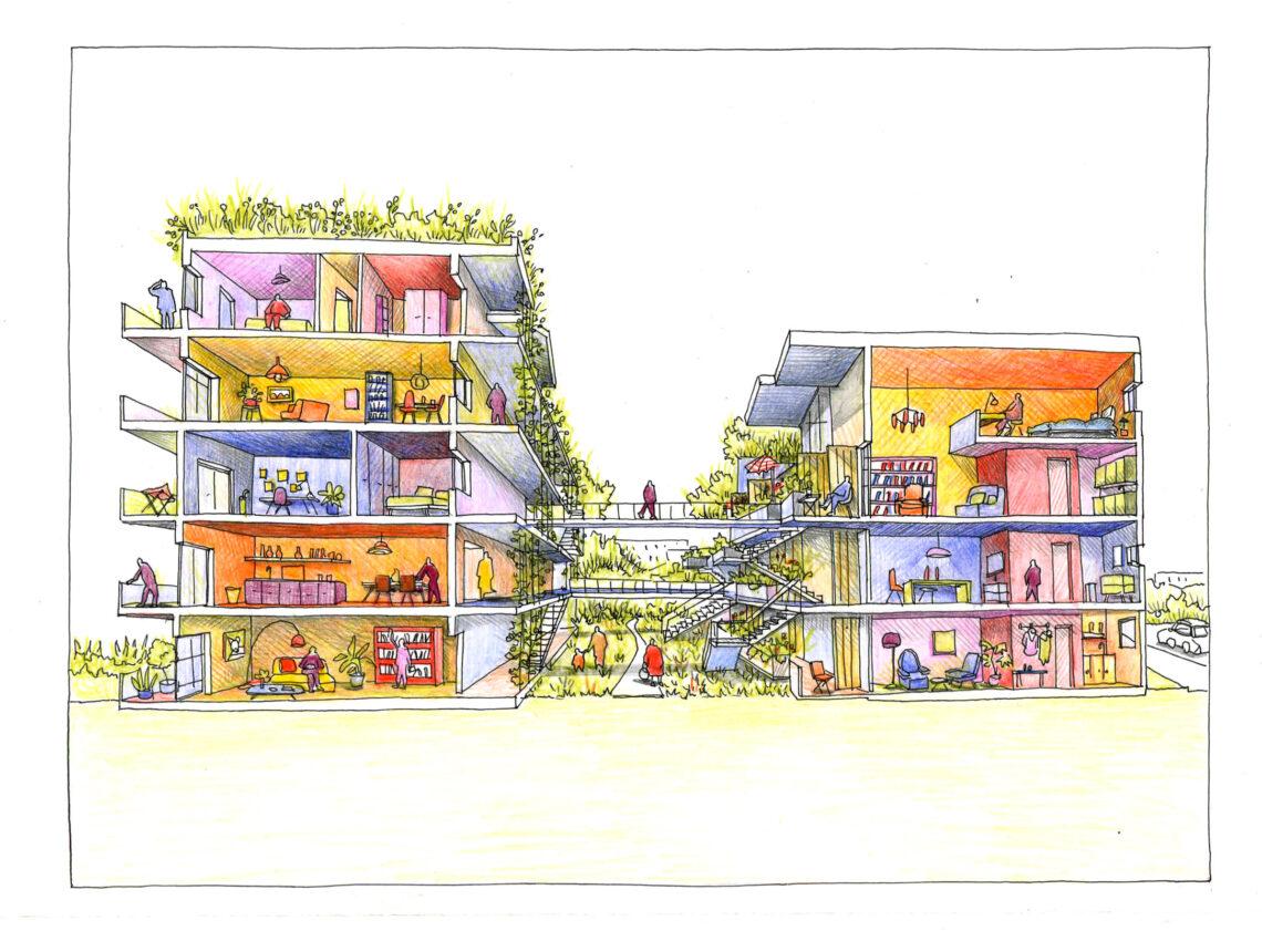 BLP architecture