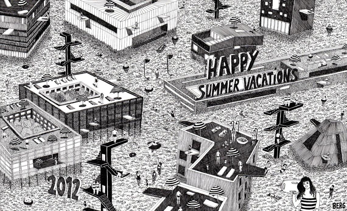 Cartes de voeux pour des agences d'architecture